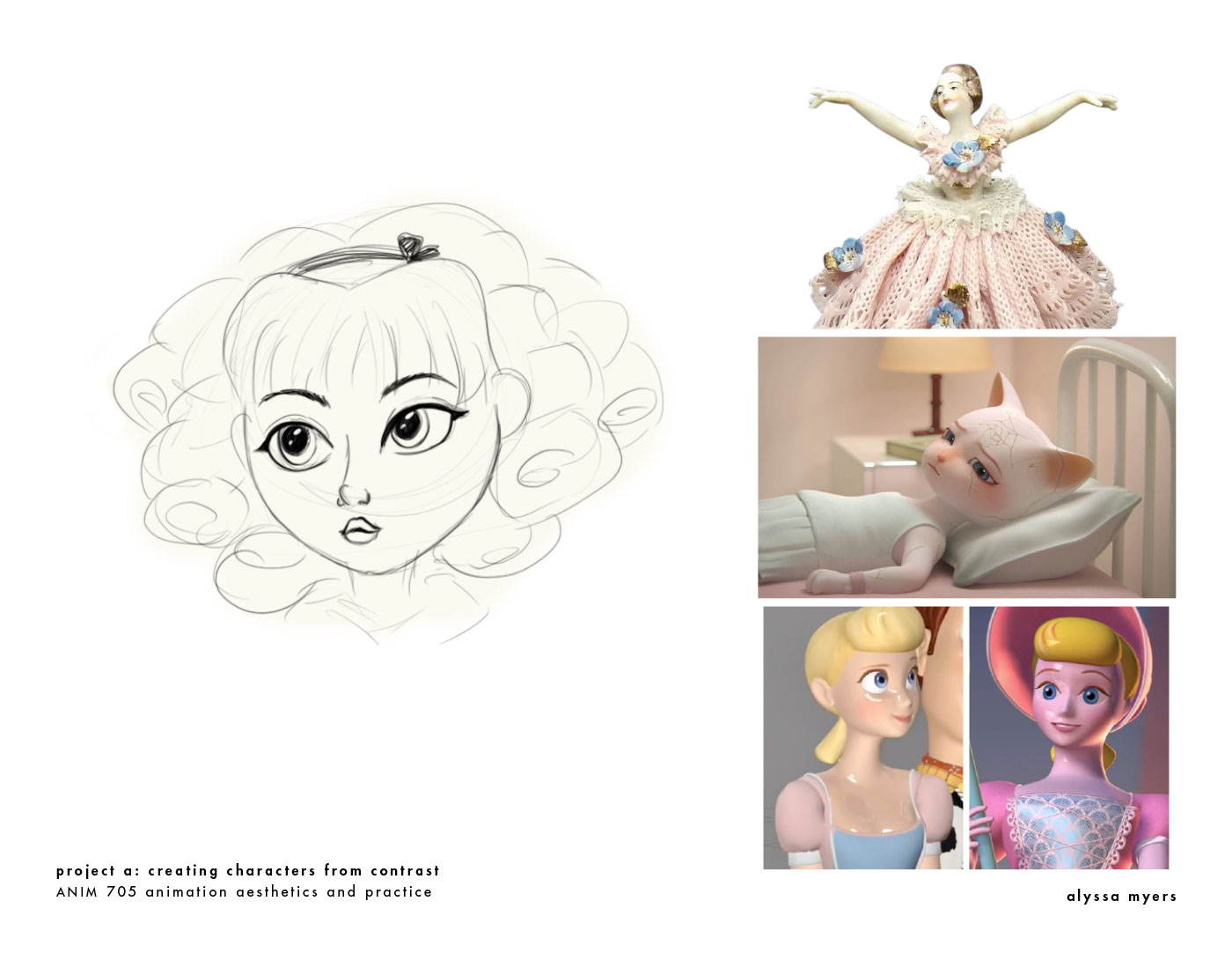 Inspiration for texturing Alice.